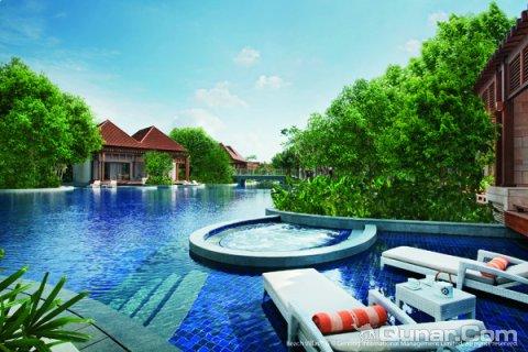 新加坡圣淘沙别墅名胜海滨世界别墅(resortsworldsentosabeach龙溪博罗酒店图片