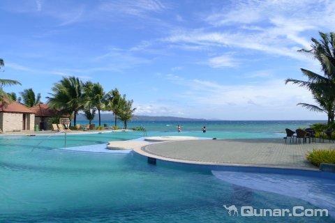 长滩岛航道和蓝海新海滩酒店