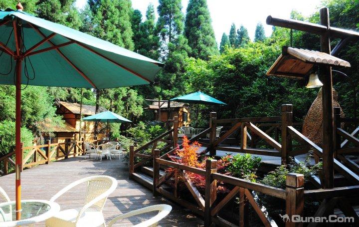 咸丰坪坝营森林树上宾馆