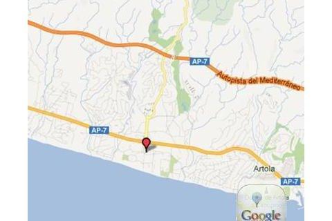 菲律宾长滩岛阿兰达地图
