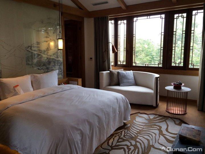 宾馆房间透视图手绘