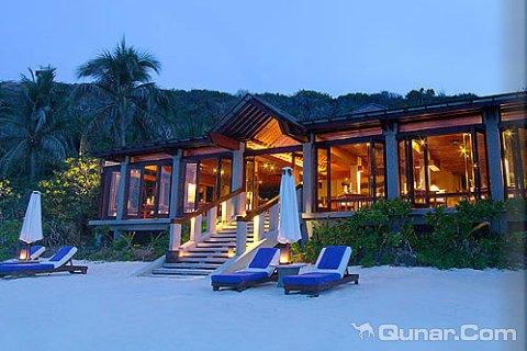 [帕马利坎岛][巴拉望阿曼普罗度假村(amanpulo resort