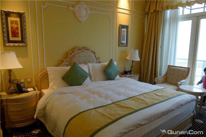 歐洲海景房臥室圖片