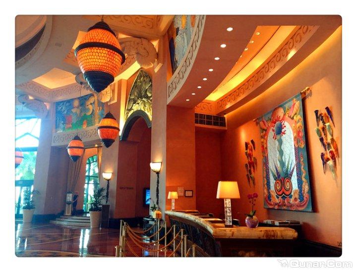 迪拜棕榈岛亚特兰蒂斯度假酒店(atlantis the palm dubai)